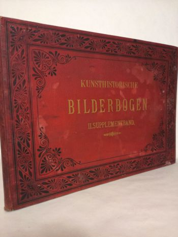 Kunsthistorische Bilderbogen II. Supplementband